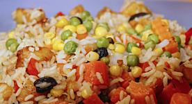 I sapori sfiziosi dell'insalata di riso